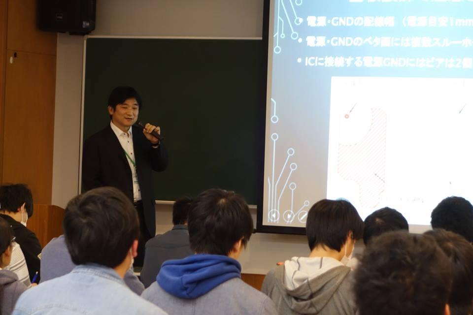 諏訪東京理科大学で講演