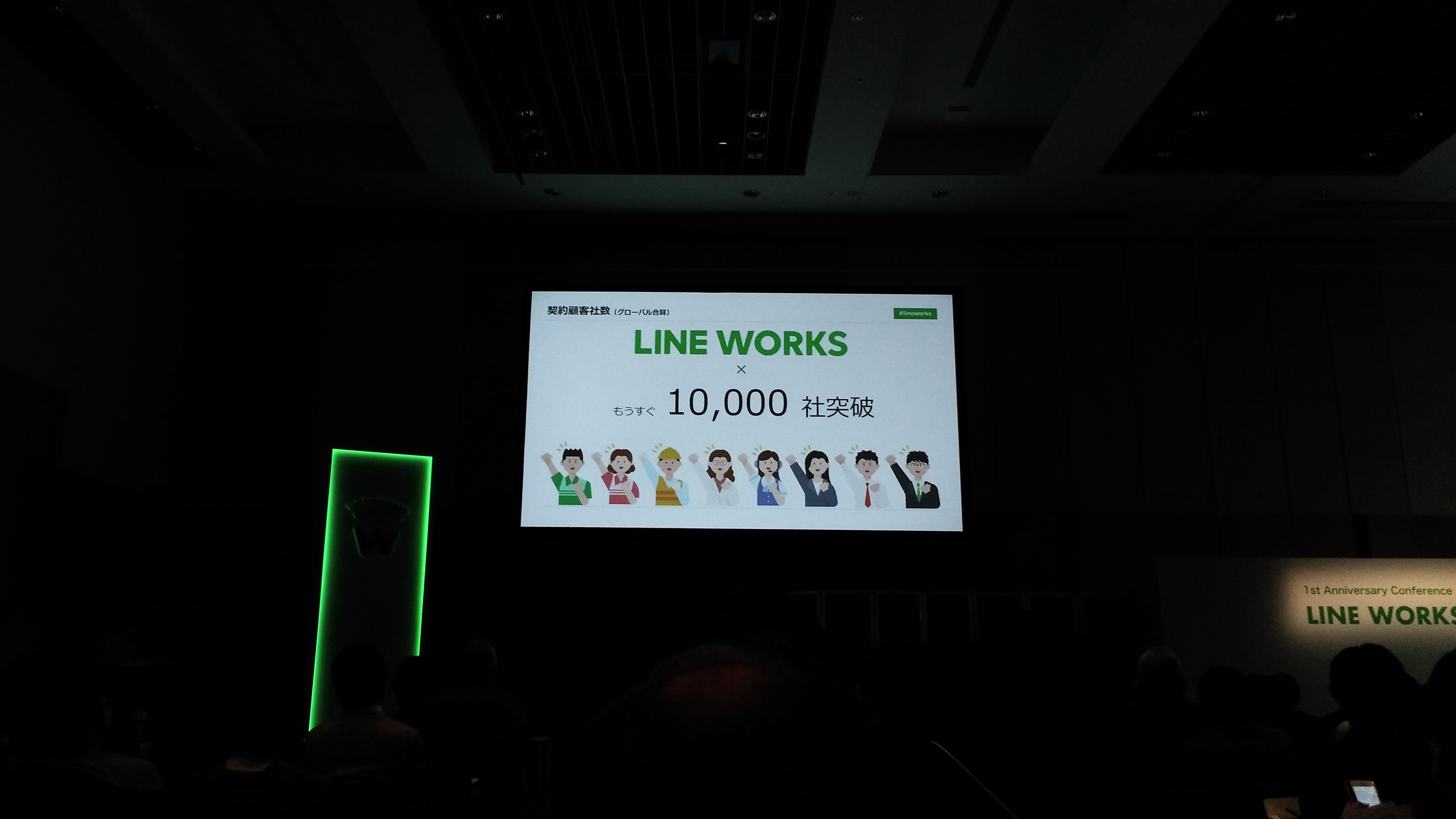 ビジネス版LINE『LINE WORKS』導入!!